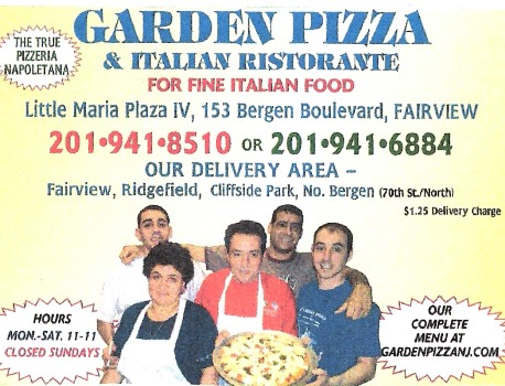 Garden Pizza About Us